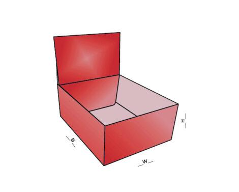 Auto Bottom Box With Display Lid
