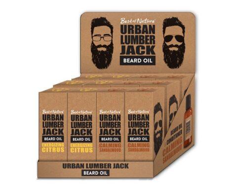 custom printed beard oil boxes