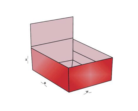 1-2-3 Bottom Display Lid