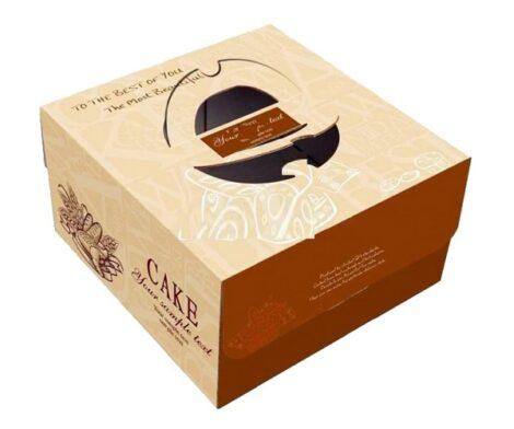 Custom Printed Cake Boxes in Wholesale