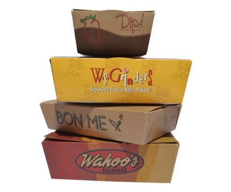 Custom Take-Away Boxes