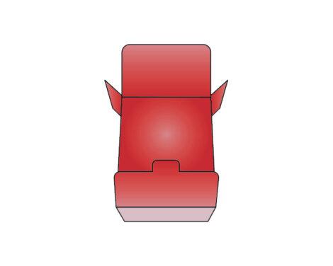Flip Out Open Dispenser Box