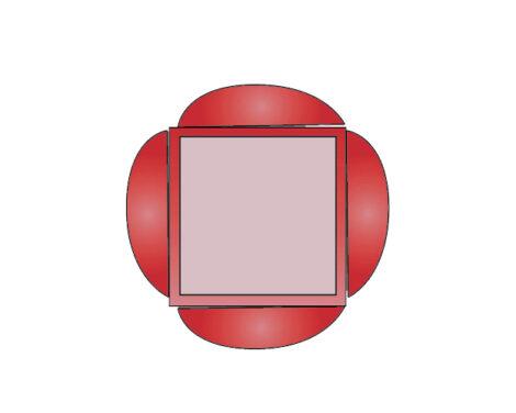 Half Circular Interlocking