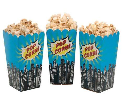 Wholesale Custom Popcorn Boxes