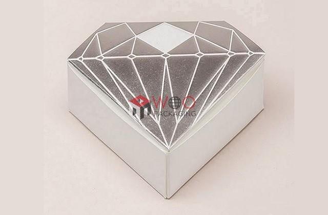 metallic cupcake boxes