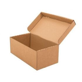 cardboard foldable shoe box